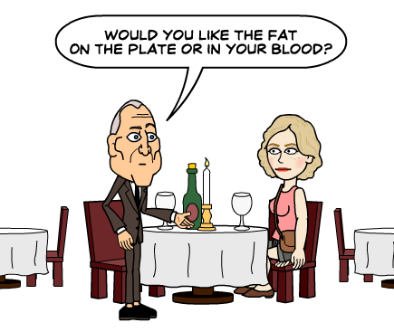 Where do you want the fat? - No vuelvo a engordar